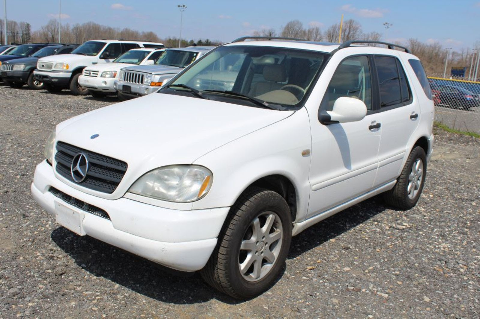 2001 Mercedes-Benz ML430 430 city MD South County Public ...