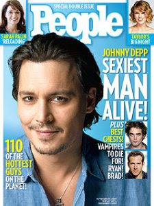 Johnny Depp named People Magazine's sexiest man alive!