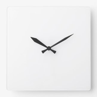Square Clock Template