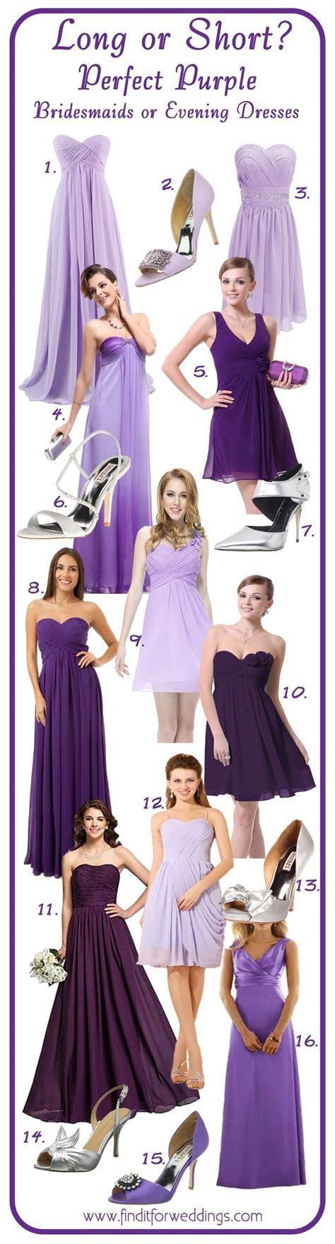 25  best ideas about Purple lace bridesmaid dresses on