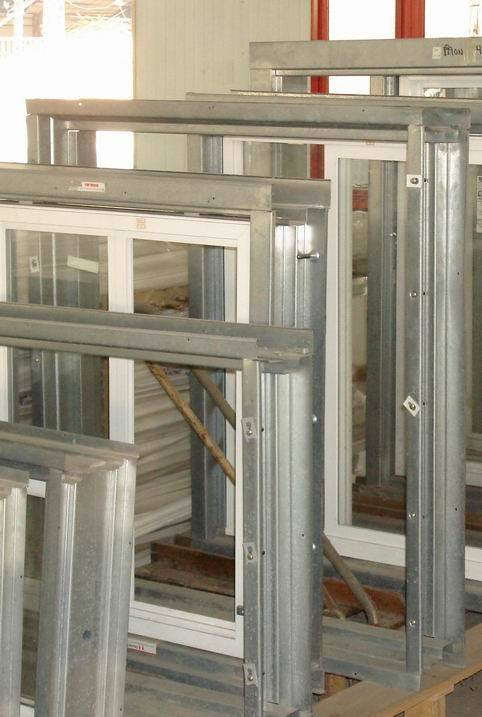 PVC Window with Steel Frame - China Window, Pvc Window