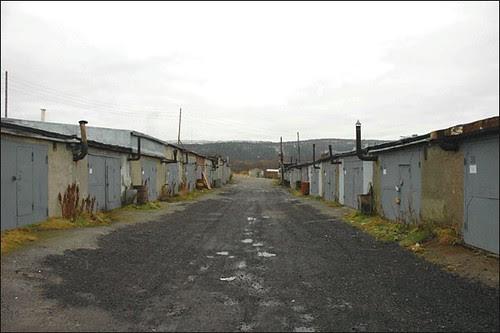 Rua de Garagens de Murmansk