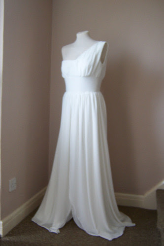 Grecian style Prom Dress by Paula Goldstraw