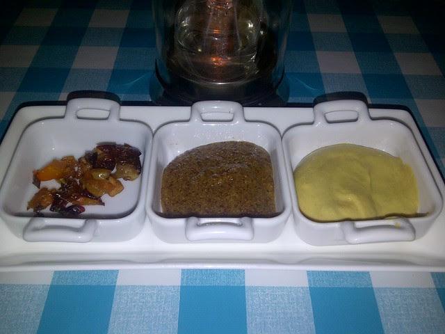 Honey Mustard, Grainy Mustard and Fruit