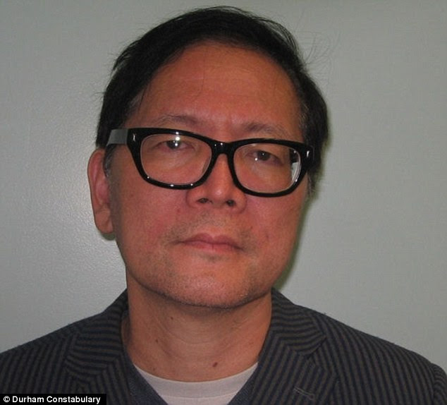 'Fence': Donald Chi Chong Wong was twice involved in incidents which led to police finding tens of thousands of pounds casually stuffed into plastic bags