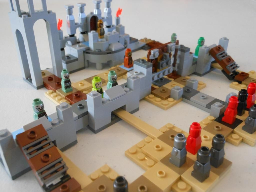 The Battle of Helm's Deep LEGO