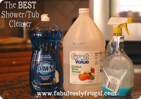 Being frugal sally best bathroom cleaner ever for 9 bathroom cleaning problems solved