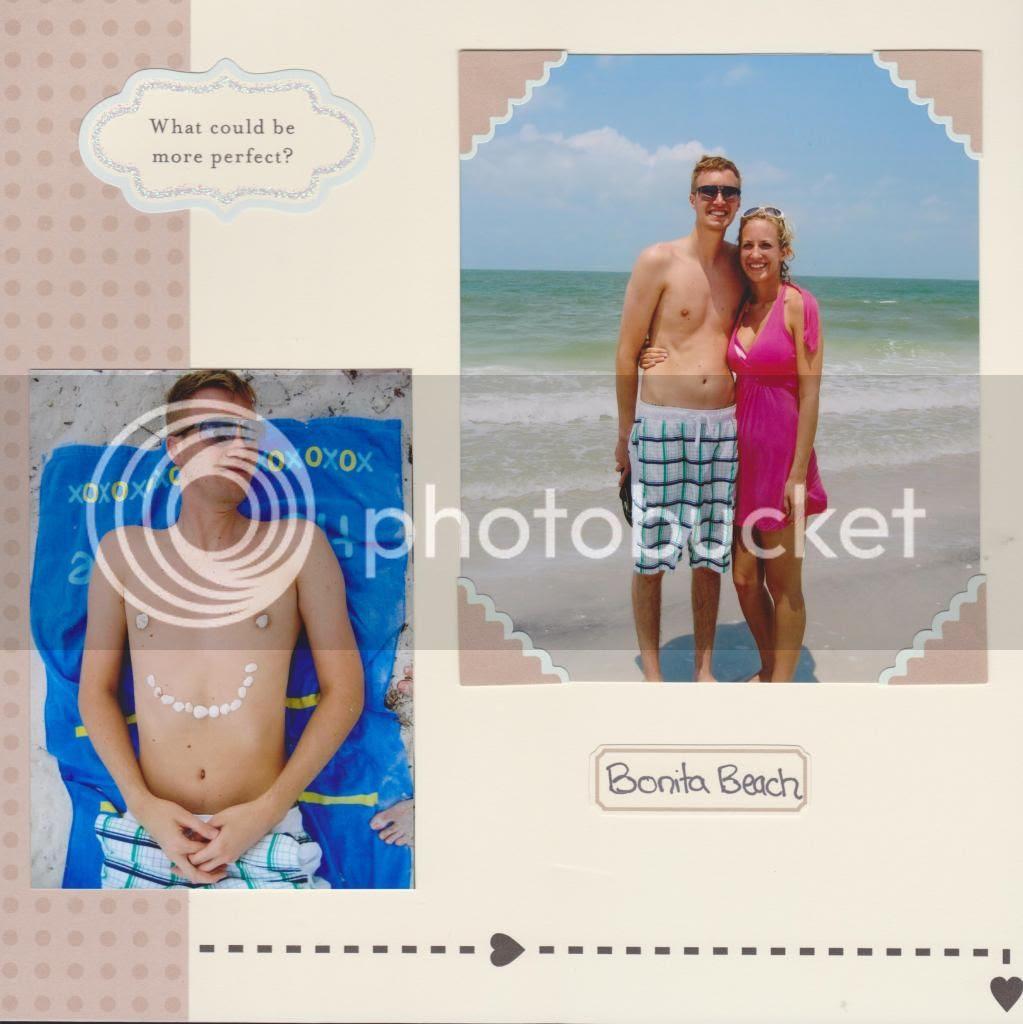 honeymoon album {Breezy Pink Daisies}