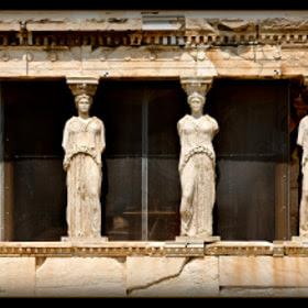 Acropolis Karyatides by Konstantinos Tsagalidis (Vito73) on 500px.com