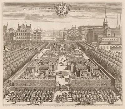 Famous Stockholm garden design
