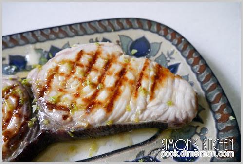 炙燒旗魚排佐檸檬奶油08