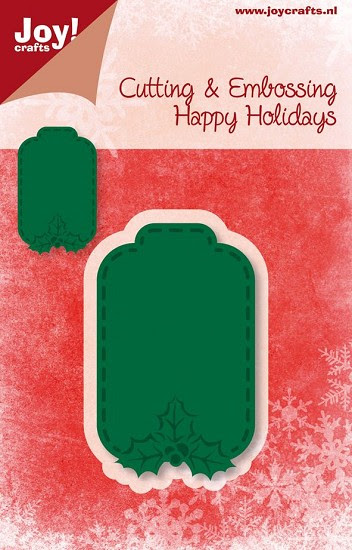 Joy! Crafts - Noor! Design - Happy Holidays - Label