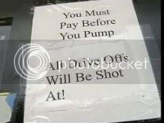 Driveoffs will be shot