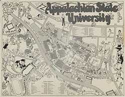 Appalachian State University Campus Map Maping Resources