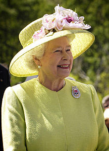 Elderly Elizabeth with a smile