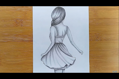 10+ Best For Easy Sketch Girl Drawing Step By Step