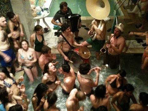 Raya Brass Band Russian Bathhouse Party Pics & Video