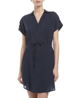 Splendid One-Pocket Shirt Dress