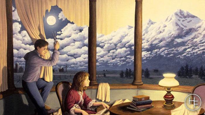 Картины-иллюзии Роба Гонсалвеса