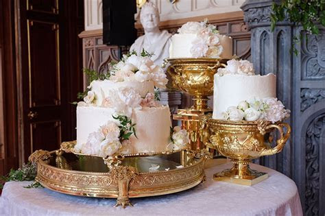 Prince Harry and Meghan's Royal wedding cake revealed   HELLO!