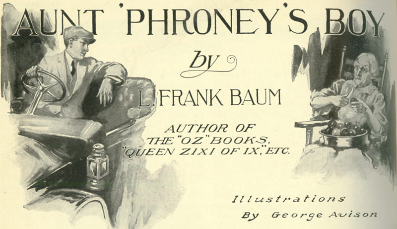 Aunt 'Phroney's Boy title