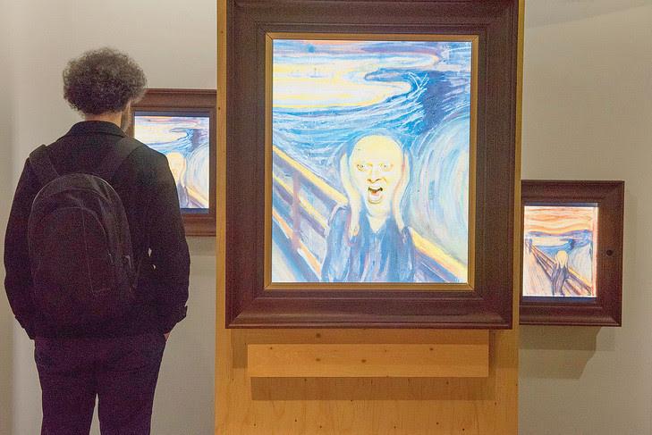 L'exposition « Mental désordre » immerge le visiteur dans<em> Le cri </em>de Munch.