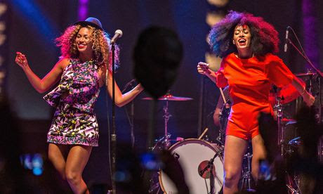 Beyonce and Solange at Coachella