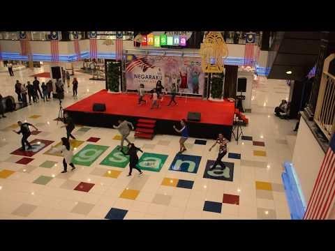 Flashmob Pesta Orkid, Flora dan Herba 2019 @ Angsana Mall