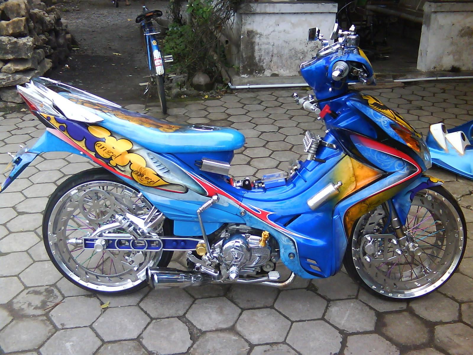 Photo Motor Modifikasi Modifikasi Motor Terbaru