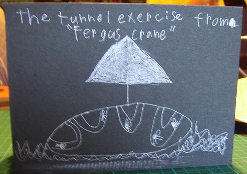 tunnel book cover