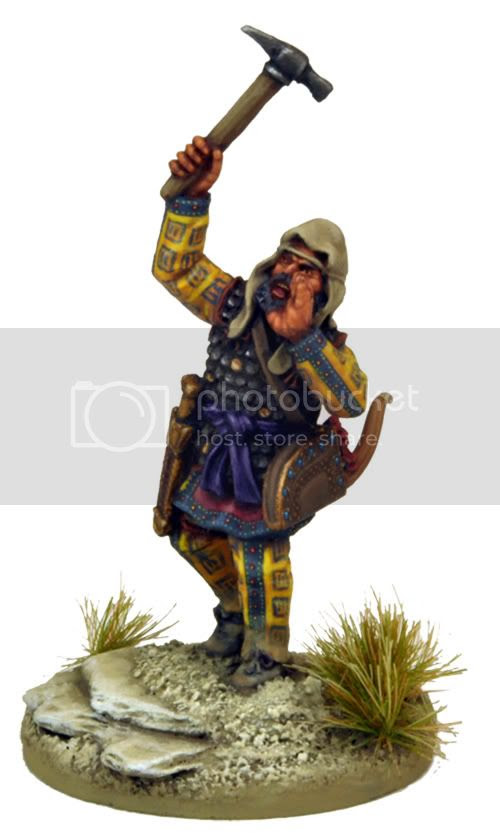 This Persian Commander sculpted by Steve Saleh comes with the book (painted by Paul Cubbin)