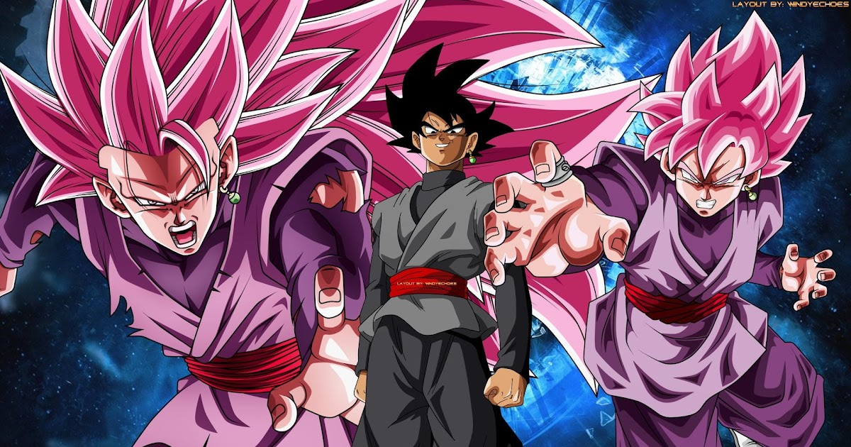 Goku Black Wallpaper Hd 4k Gambarku