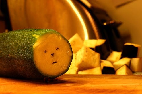 Face In The Courgette