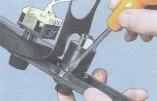 статья про замена органов управления на консоли ВАЗ 2106