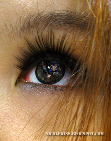 lee hom in my eye