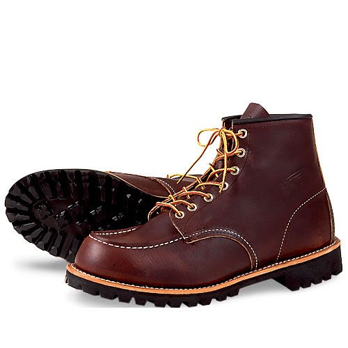 Red Wing Heritage Men's 8146 6-Inch Moc Toe Lug Boot,Briar Oil Slick,7 D US