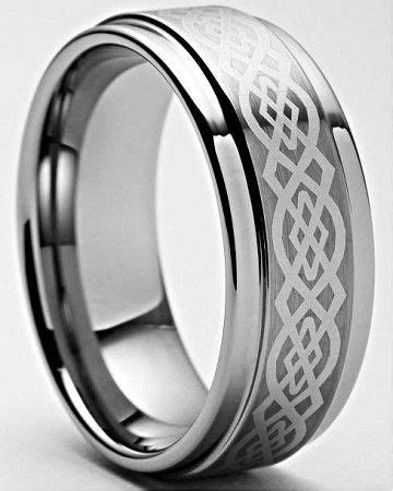 Keon Celtic Tungsten Wedding Band Ring 8mm   For the
