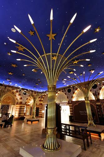 Dubai Mall Gold Souk Lamp