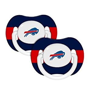 NFL Buffalo Bills Baby Fanatic 2-Pack Pacifiers