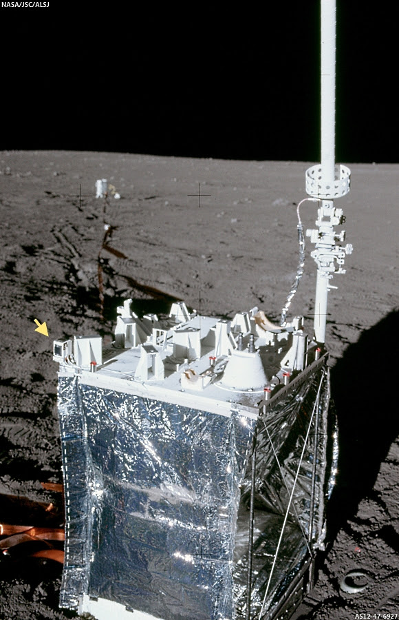 Apollo 12 ALSEP Central Station