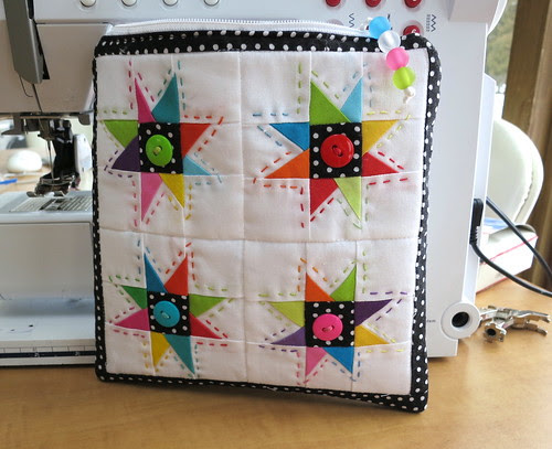 Star Pouch Front