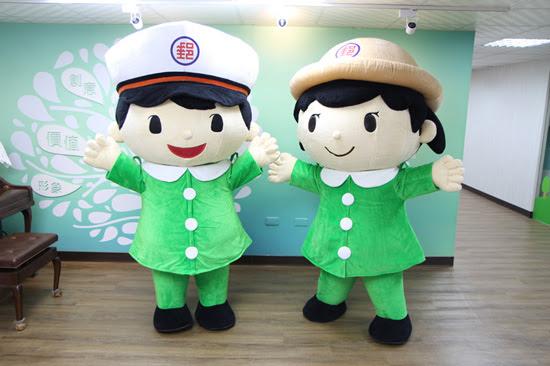 中華郵政超萌的「郵政寶寶」,模樣俏皮生動,十足療癒!