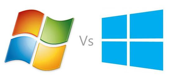 Windows 7 VS Wndows 8