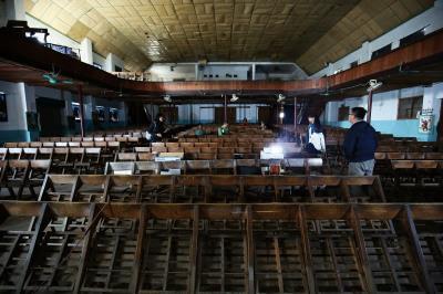 老戲院雋永的氛圍, 值得人們駐足品賞。