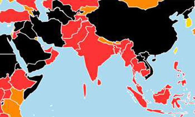 Sri Lanka moves 10 positions up in the World Press Freedom Index