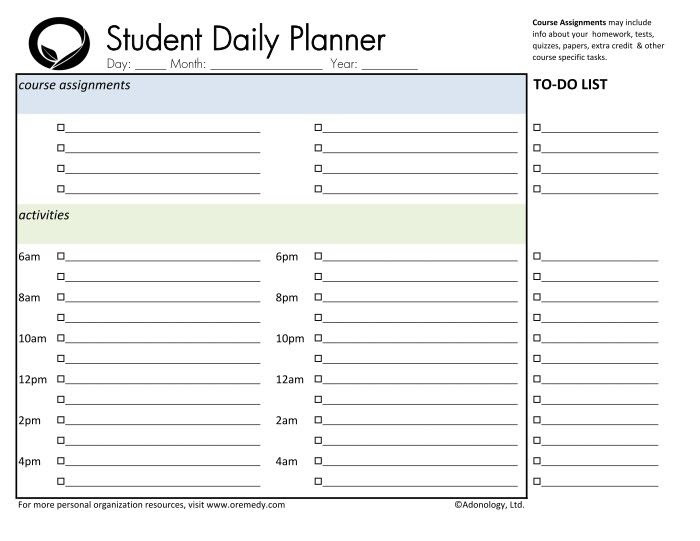 1000+ images about Planners on Pinterest | Weekly planner, Daily ...
