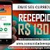 RECEPCIONISTA, 02 VAGAS COM SALÁRIO DE R$ 1300,00 PARA CONDOMÍNIO