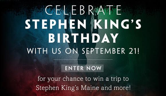 CELEBRATE Stephen Kings's Birthday September 21!