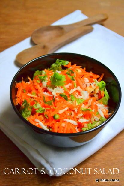 Carrot Coconut Salad