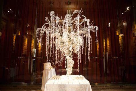 Winter Wedding Ideas: Birch Bark Details & Branch Décor